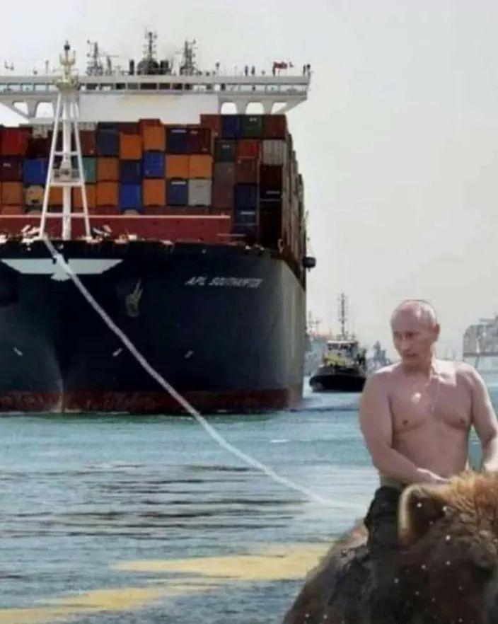 Seul Poutine peut nous sauver - meme