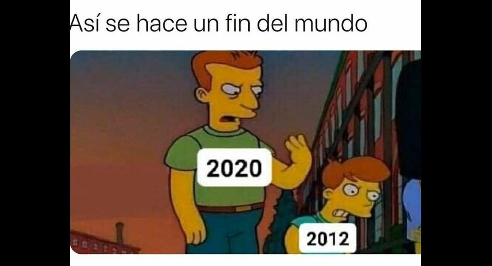 El verdadero fin del mundo - meme