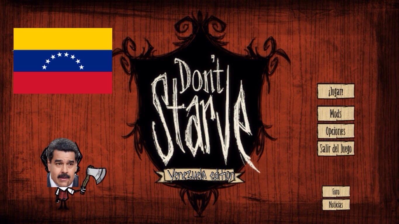 Don't starve = no te mueras de hambre - meme