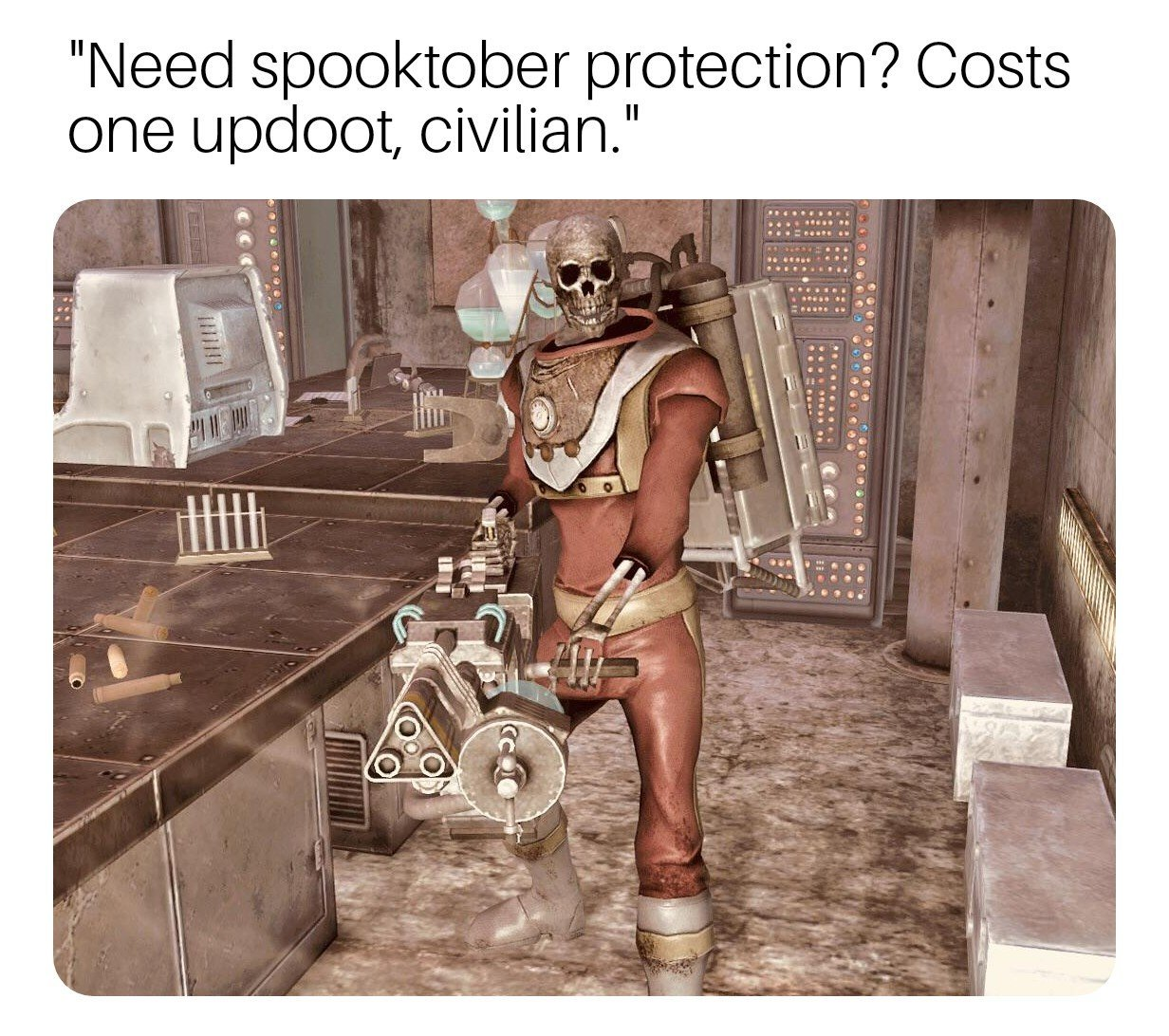 Some spooky stuff right here..... - meme