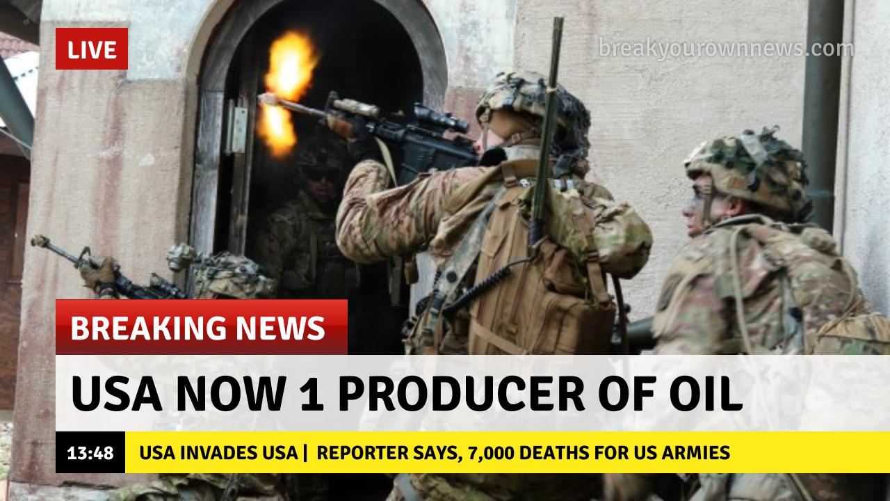 USA Invades USA - meme