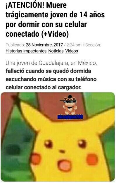 Ese pikachu soy yo - meme