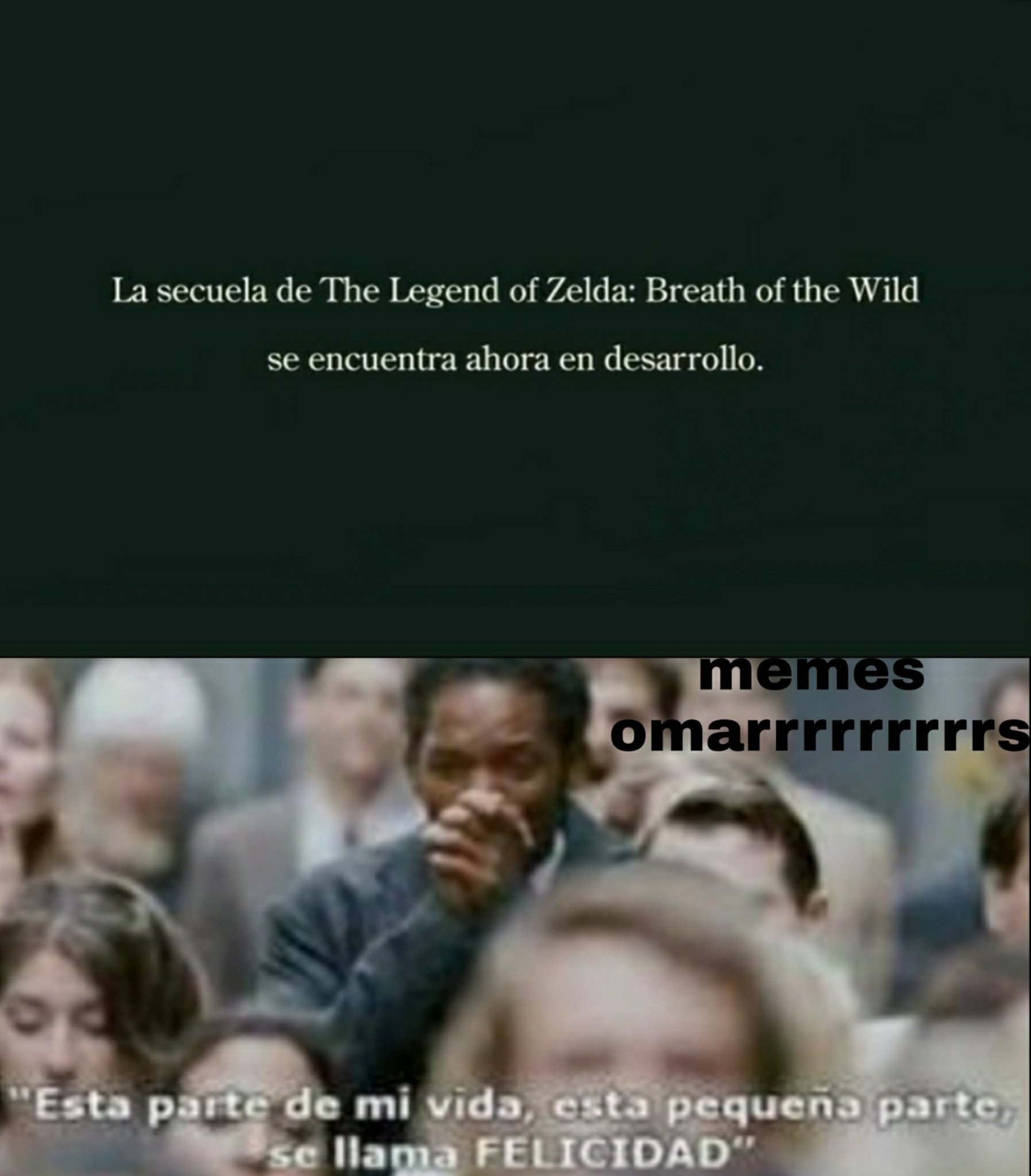 zelda breath of the wild 2 confirmado :') - meme