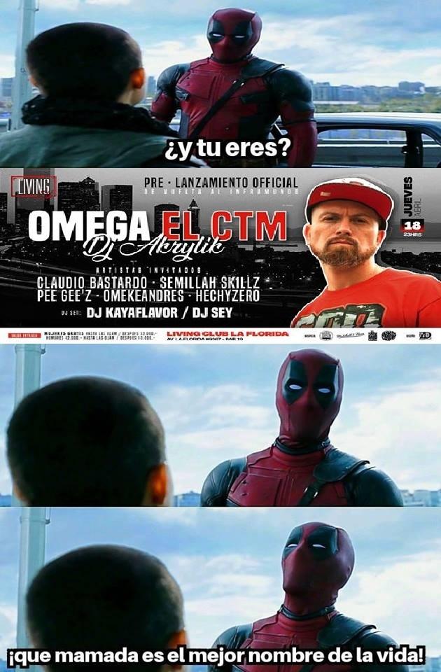 El gran Omega - meme