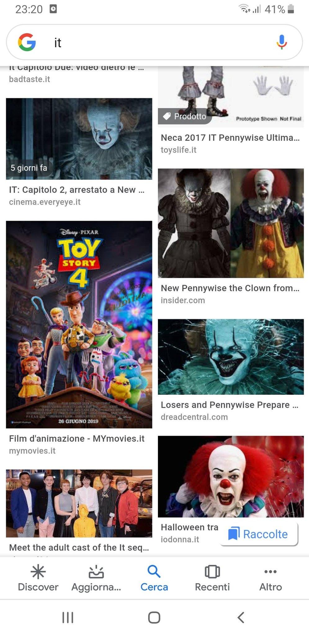 Cercando it si trova toy story 4 - meme