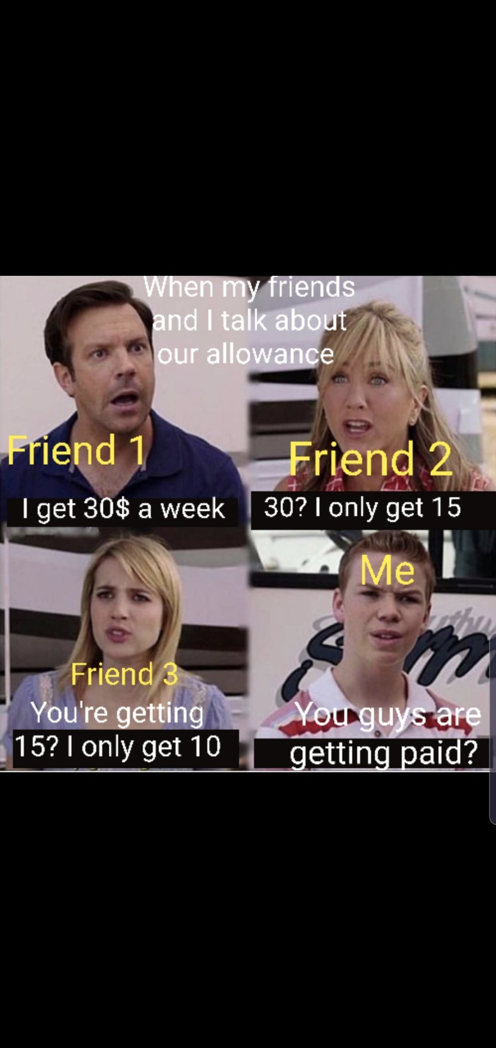 """What is this """"allowance"""" you speak of? - meme"""