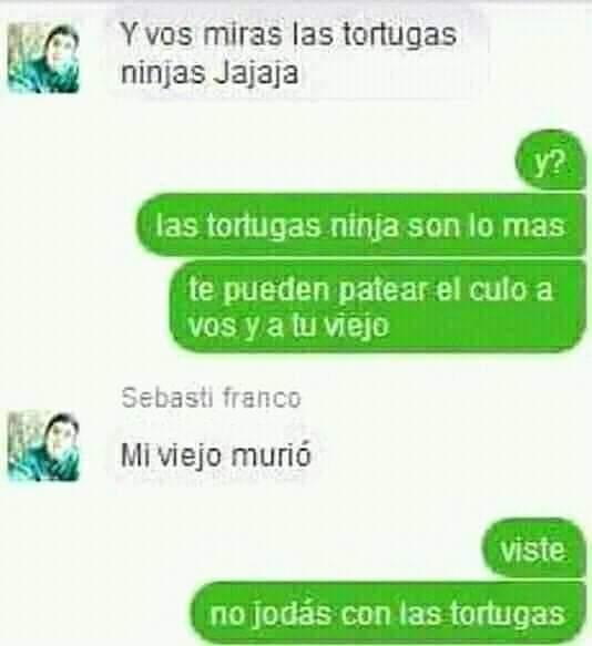 NO JODAS CON LAS TORTUGAS  - meme