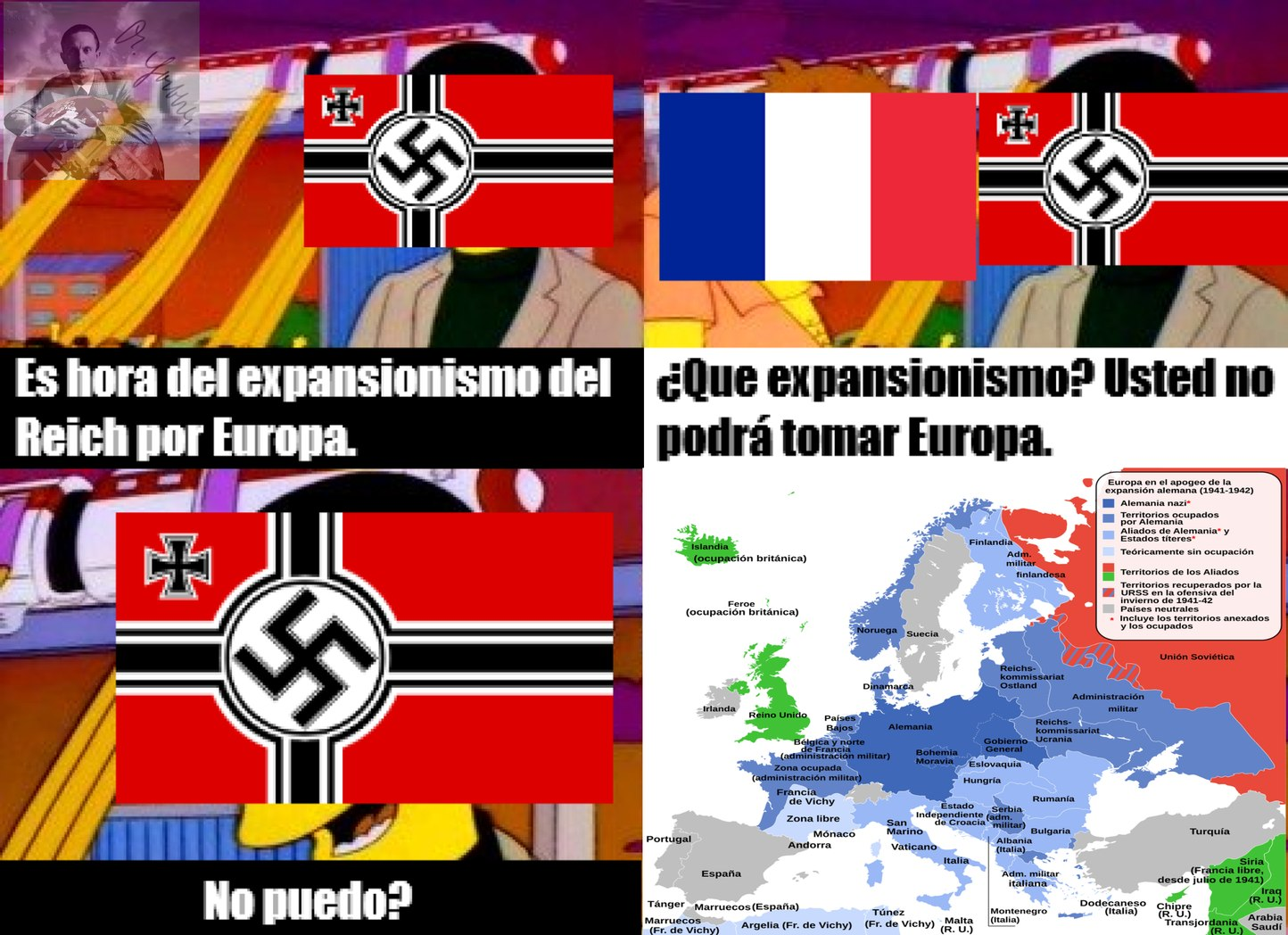 Me voy dedicar mayor mente a memes de nazis y la SGM.