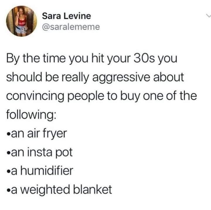 Must. get. weighted. blankeeeeeeet - meme