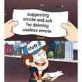 Staff be like