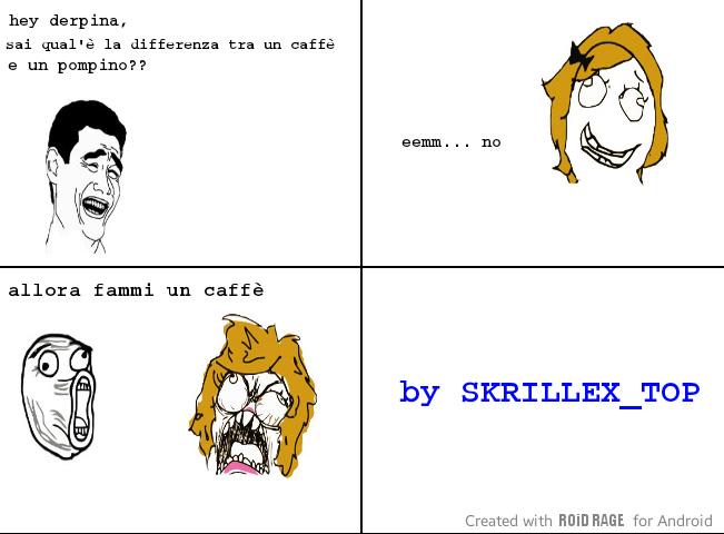 Caffè=pompino - meme