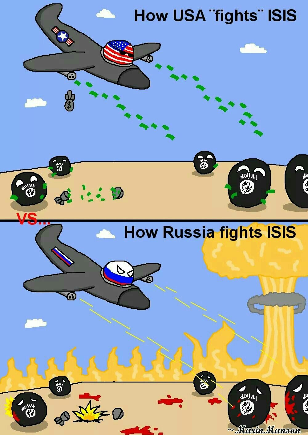 Simplemente rusos - meme