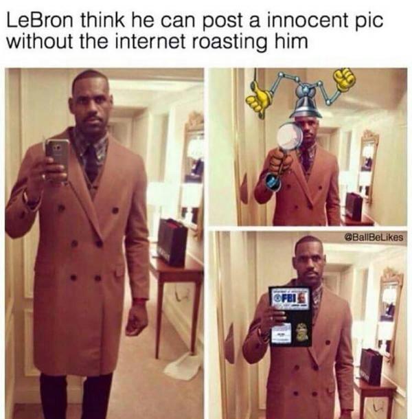 Inspector LeBron - meme