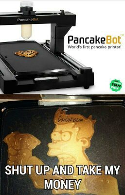 I would print out a pancake girlfriend - meme