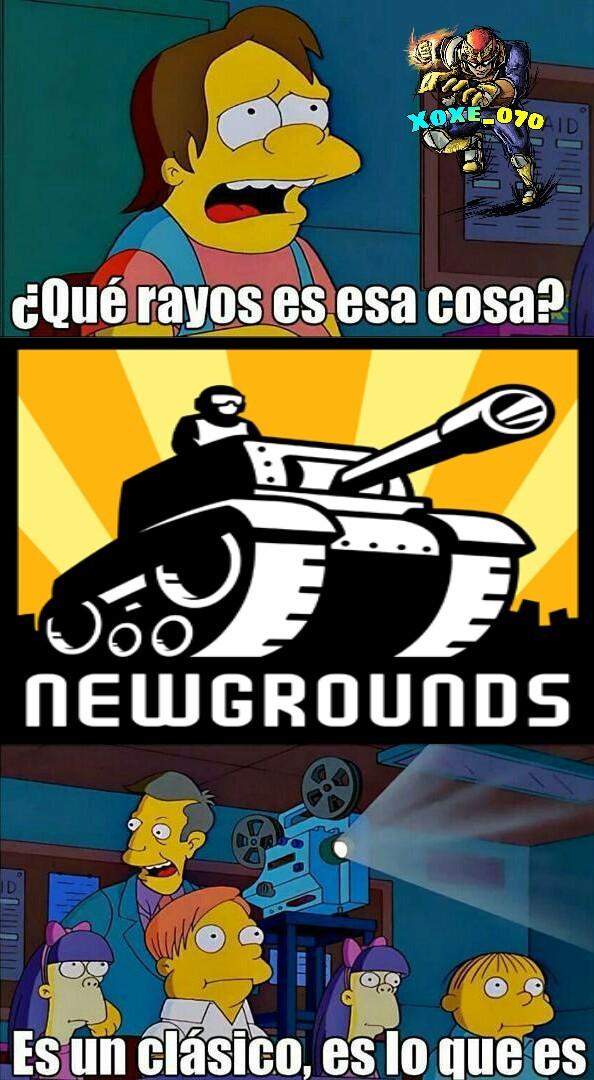 Bakan el newgrouns xD - meme