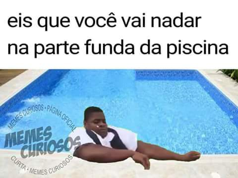Piscina - meme