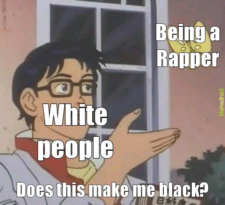 White people - meme