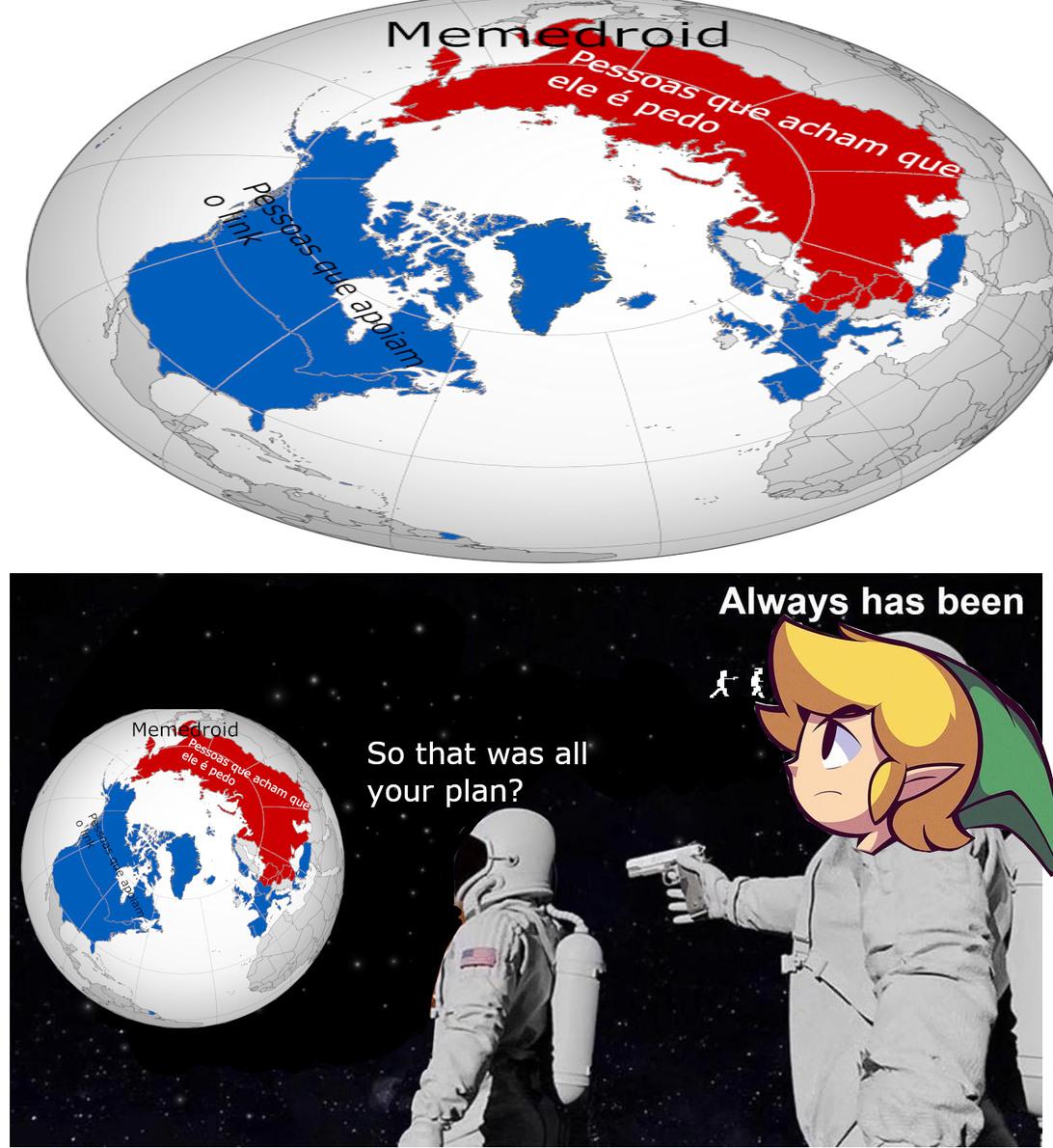 A verdade oculta - meme