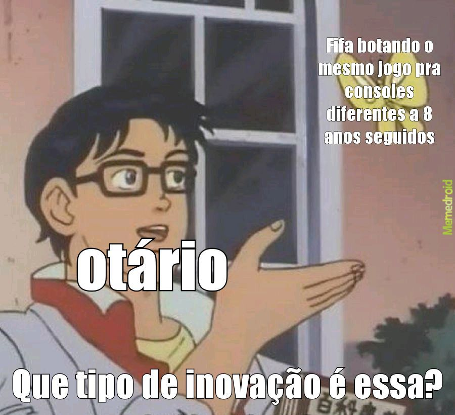 Kkkkk otário - meme