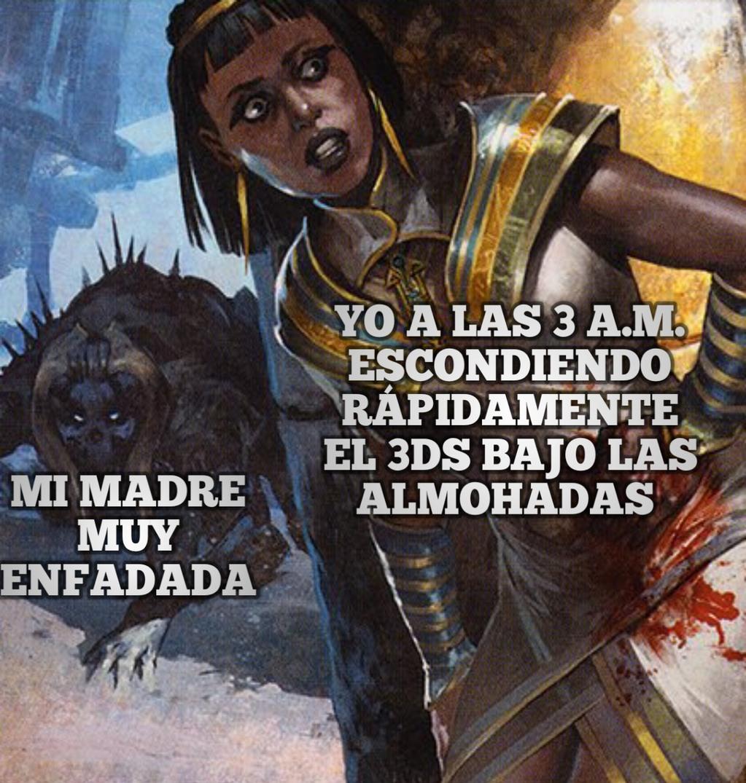 There is no refuge.   (Perdon x la sangre) - meme