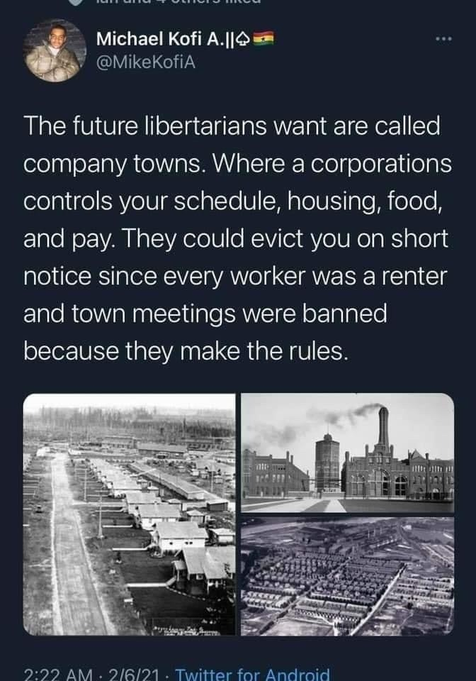 the future libertarians want - meme