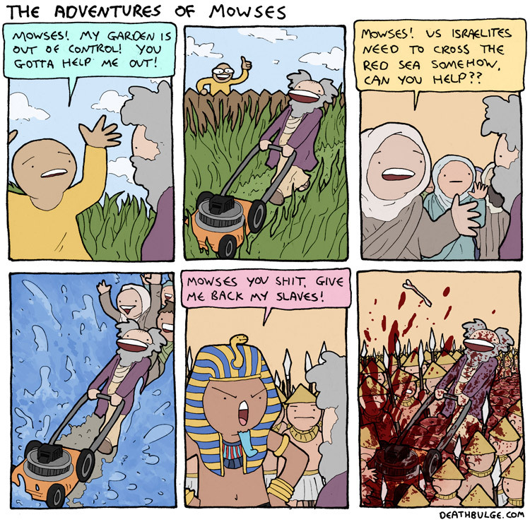 adventure of Moses - meme