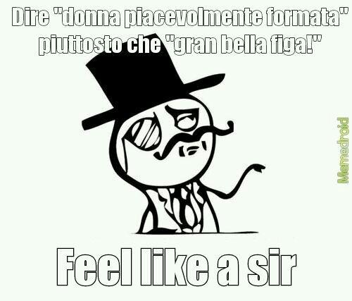 Sir - meme