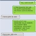 SMS : Changer de sujet