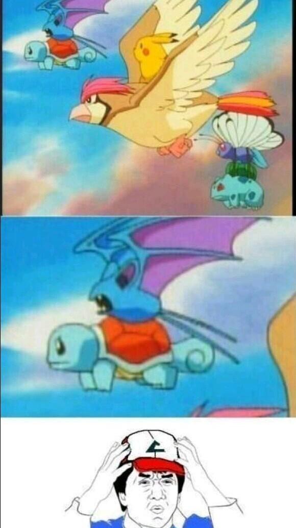 Logica pokemon - meme