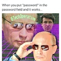 Putin in the Disk...