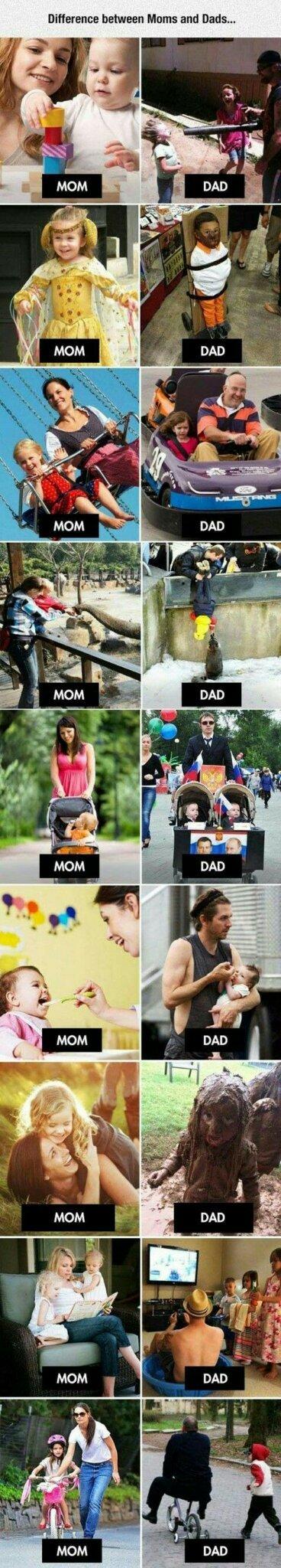 Cosas de padres - meme