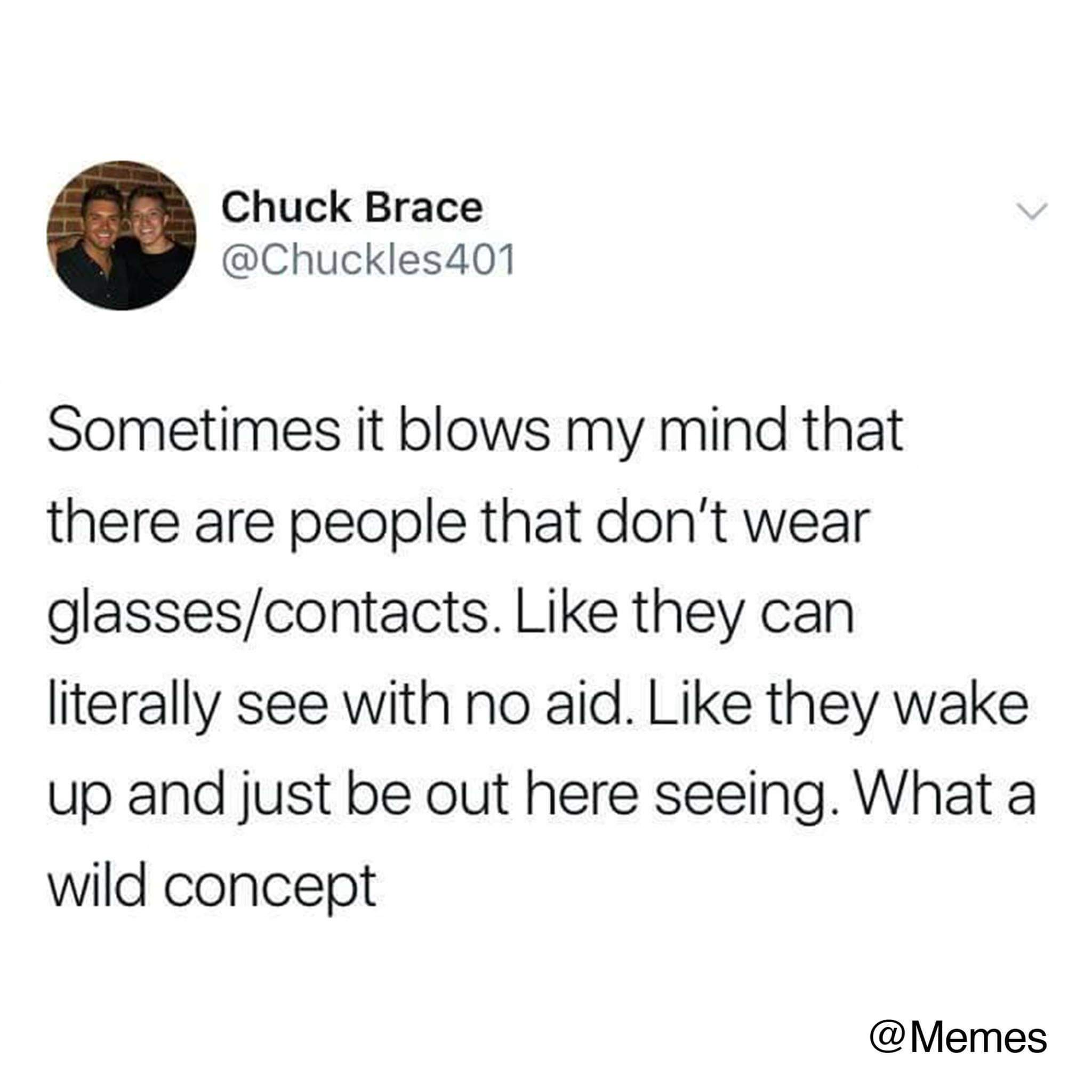 Where my blind people at? - meme