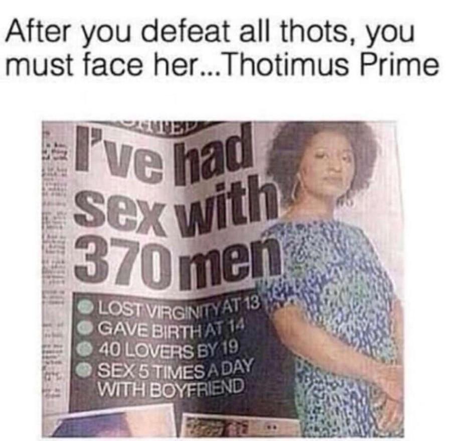 Thotimus Prime - meme