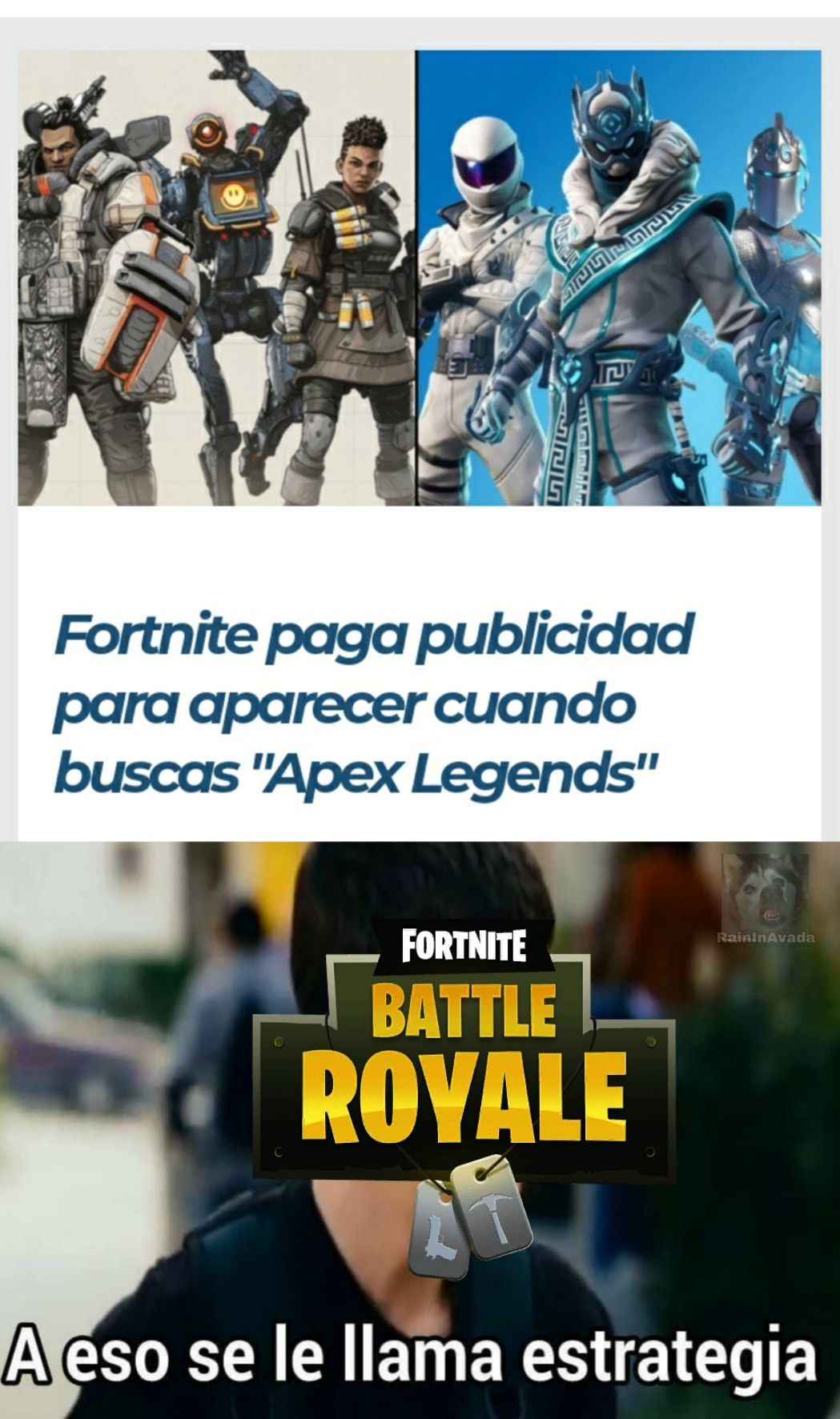 Epic Games astuto - meme