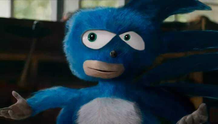 Qué buena se ve la nueva peli de Sonic - meme