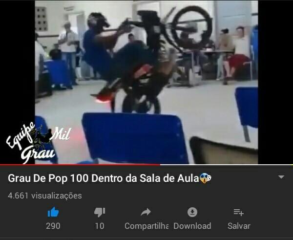 Mais um dia normal no YouTube - meme