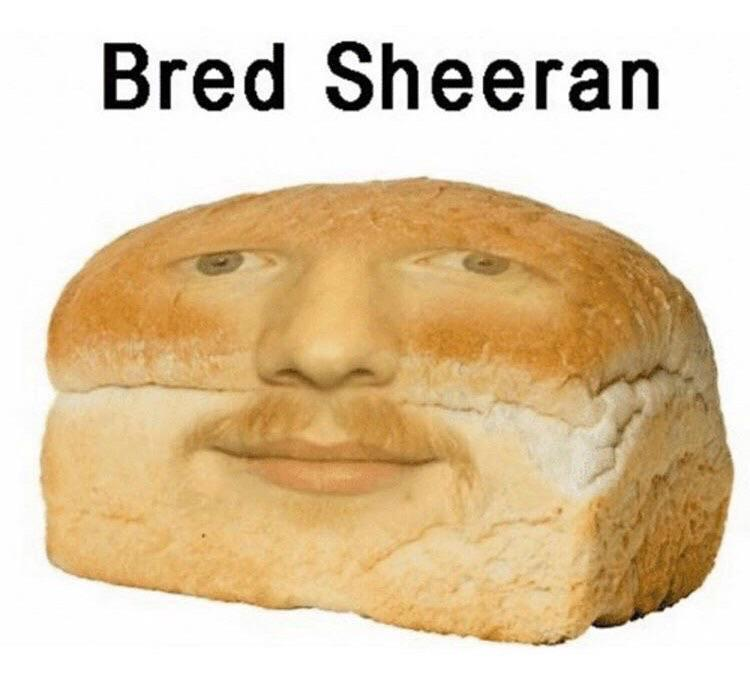 Bred Sheeran - meme