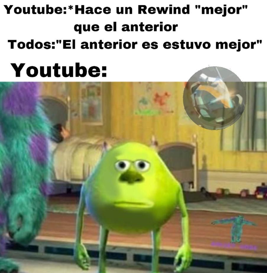 Youtube rewind 2019 - meme