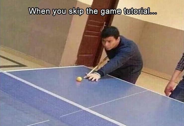Insert skip - meme