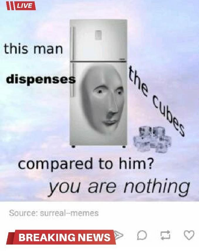 The cubes - meme