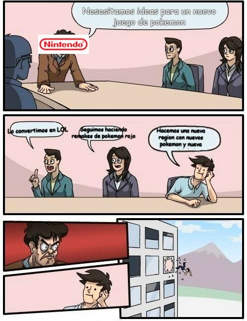 Ya me canse de pokemon rojo LPTM - meme