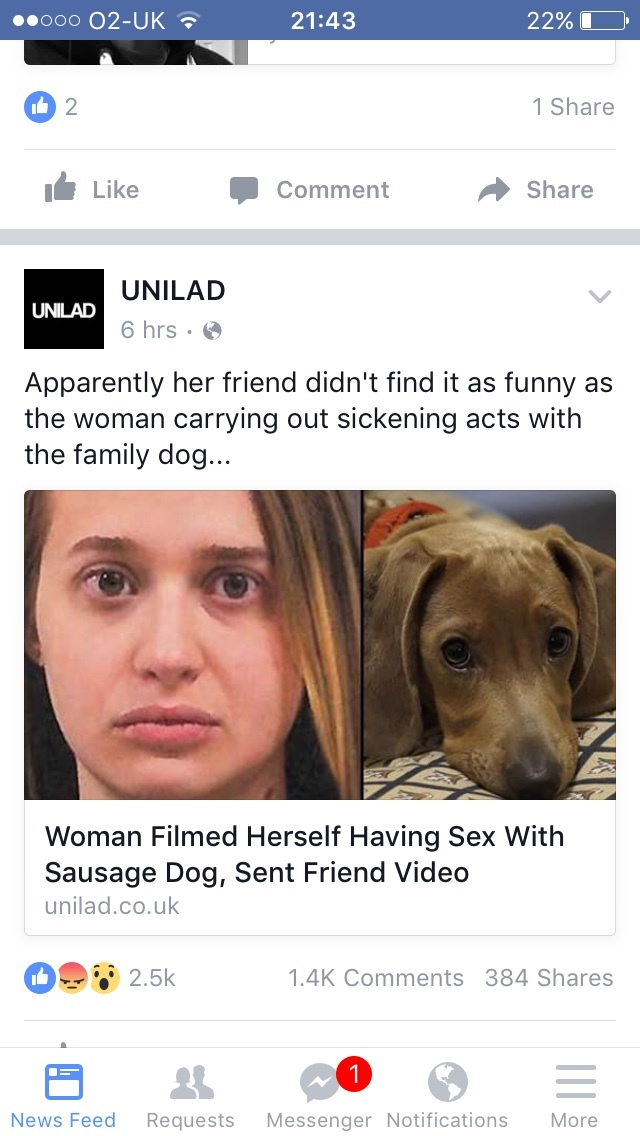 5th comment fucks their sausage dog - meme