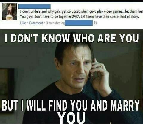 She's probably already married - meme