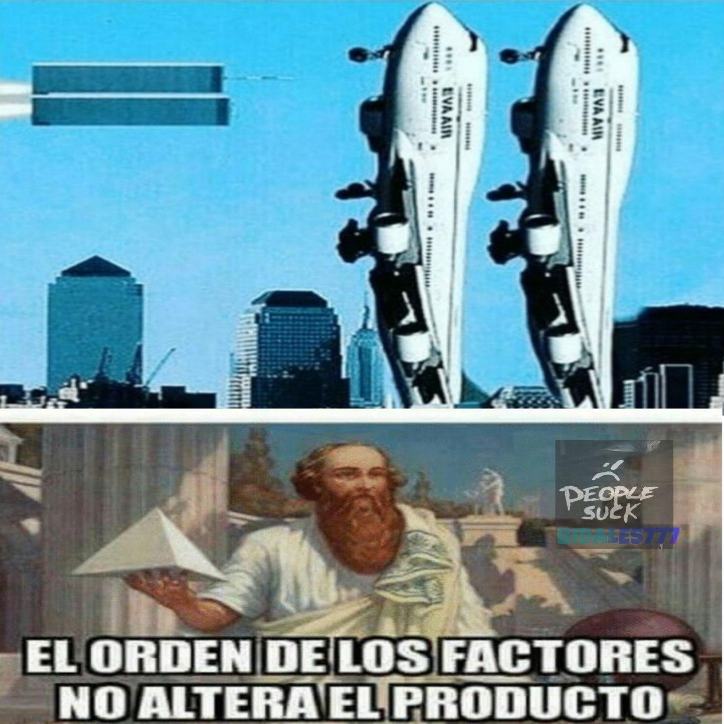 La venganza de las torres gemelas - meme