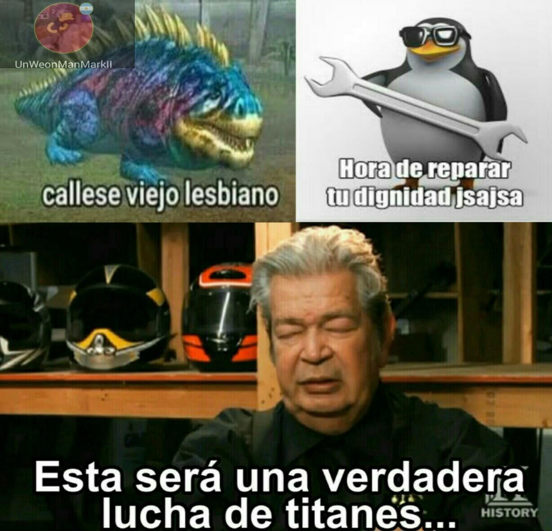 #team pingüino - meme