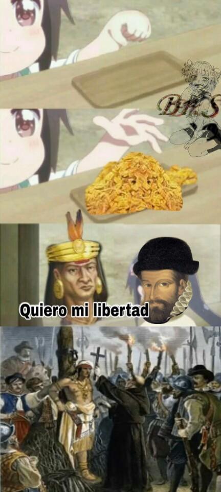 Atahualpa para el que no este enterado - meme