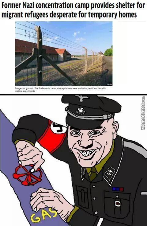 i bet you did nazi that coming - meme