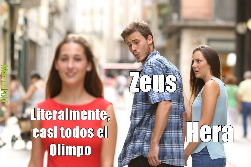 Zeus el follador - meme