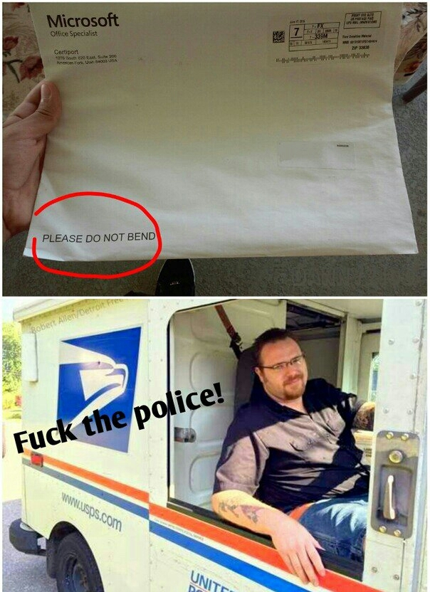 Mailman will be mailman - meme