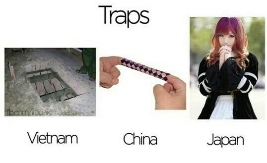 I kind of like traps - meme